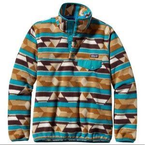 Patagonia Synchilla Snap-T Pullover Size Medium